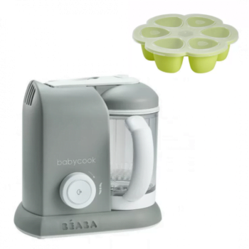 Beaba Babycook 4 in 1 Grey With Multiportions