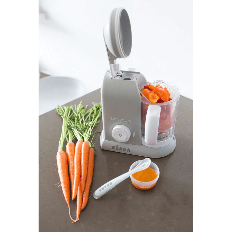 Beaba Babycook 4-in-1 Food Maker Macaron Collection – Grey 3