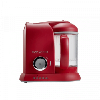 Beaba Babycook Solo 4-in-1 Baby Food Maker – Red