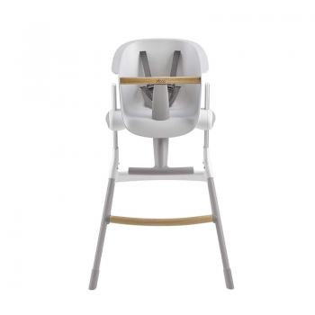 Beaba Up & Down High Chair - Grey & White 1