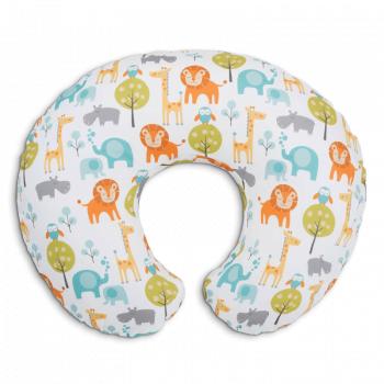 Boppy Cotton Nursing Feeding Pillow - Peaceful Jungle