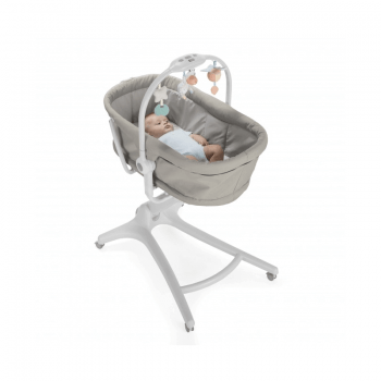 Chicco 4 in 1 Baby Hug Crib - Legend