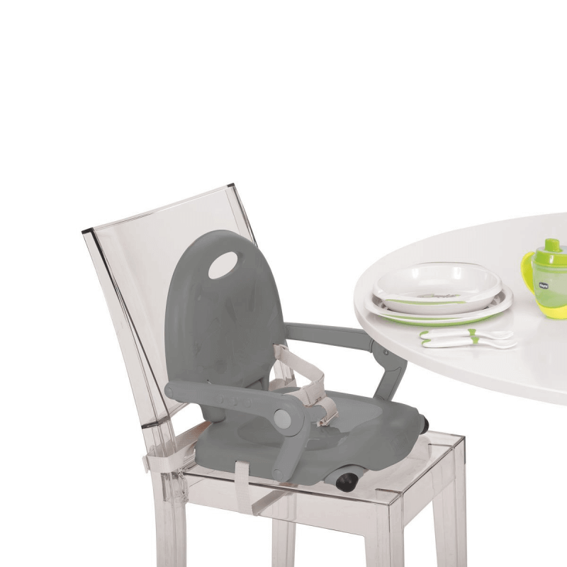 Chicco Pocket Snack Booster Seat Highchair – Dark Grey 2