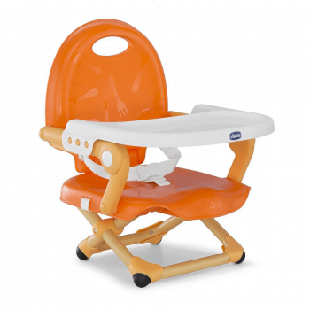 Chicco Pocket Snack Booster Seat Highchair - Mandarino