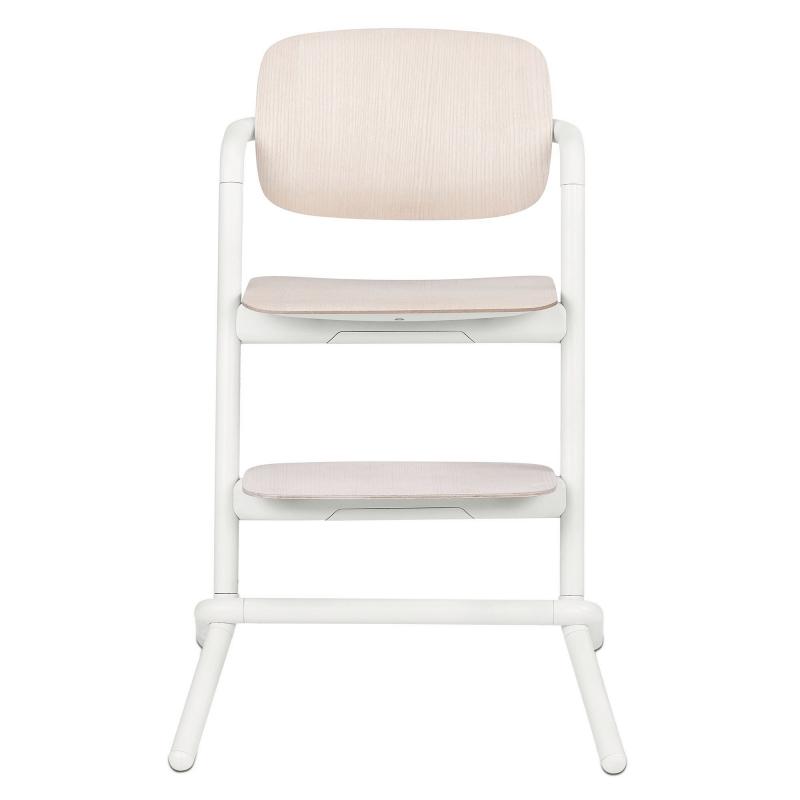 Cybex Lemo Wooden Highchair - Porcelaine White 1