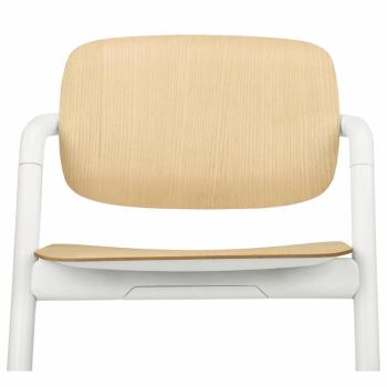 Cybex Lemo Wooden Highchair - Porcelaine White 2