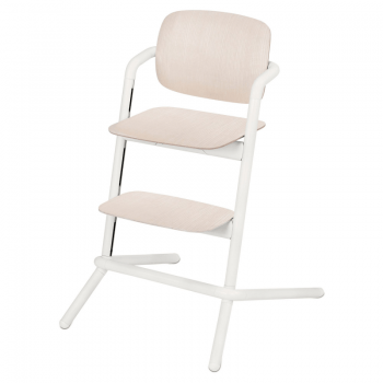 Cybex Lemo Wooden Highchair - Porcelaine White