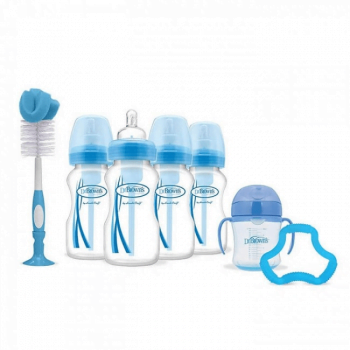 Dr Browns 4 Bottle Gift Set – Blue