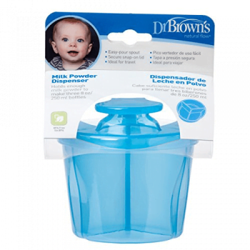 Dr Browns Milk Powder Dispenser - Blue