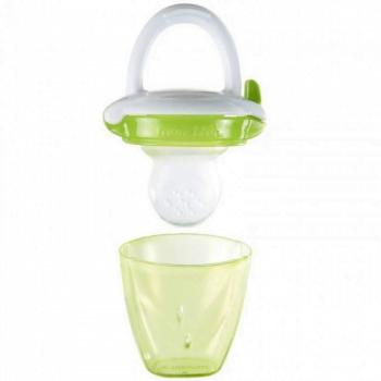 Munchkin Silicone Baby Food Feeder - Green
