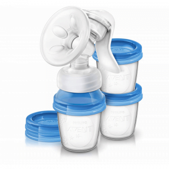 Philips AVENT SCF330 20 Natural Manual Breast Pump 1