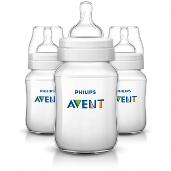 Philips Avent Classic+ Feeding Anti-Colic Bottle 260ml (Pack of 3)