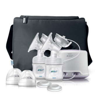 Philips Avent Natural Twin Electric Breast Pump SCF33201