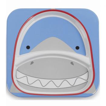 Skip Hop Zoo Divided Plate - Shark