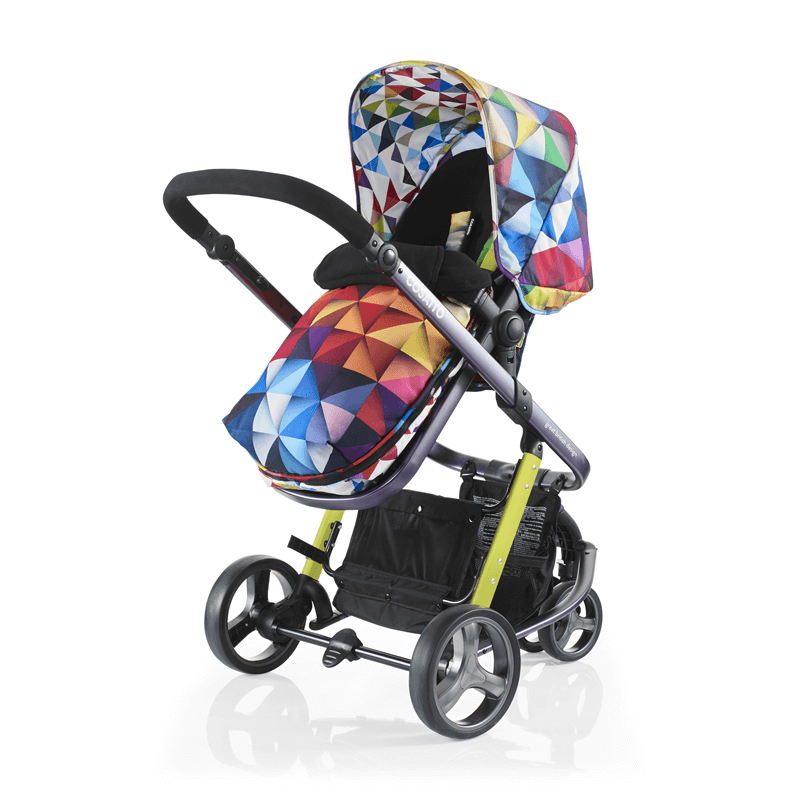Spectroluxe Cosatto Woop Pushchair Suitable from Birth to 15 kg