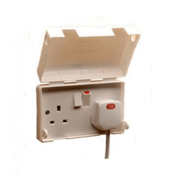 BabySecurity Double Electric Plug Socket Cover