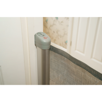 Callowesse Deluxe Aluminium Retractable Safety Gate – Grey