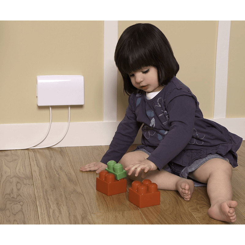 Clippasafe Double Electric Socket Cover Child