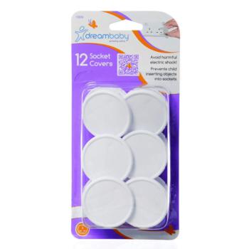 Dreambaby UK Plug Socket Covers - 12 Pack