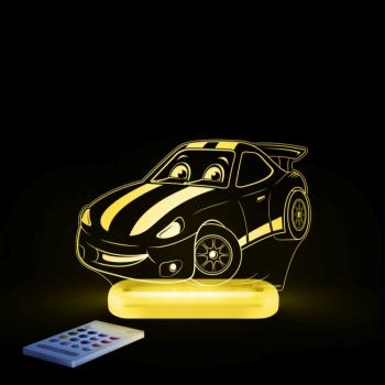 Aloka SleepyLights Nursery Light - Race Car 6
