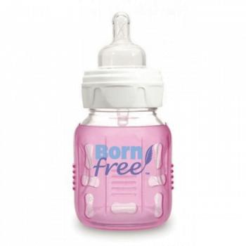 BornFree Silicone Sleeve for 5oz 160ml Bottle - Pink