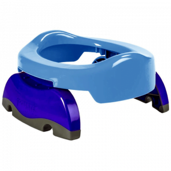 Cheeky Rascals Potette Portable Potty and Toilet Trainer Seat - Blue 4