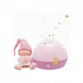 Chicco Goodnight Stars Night Light Projector - Pink 2