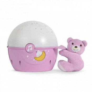 Chicco Next 2 Stars Projector For Next2Me Bedside Crib - Pink