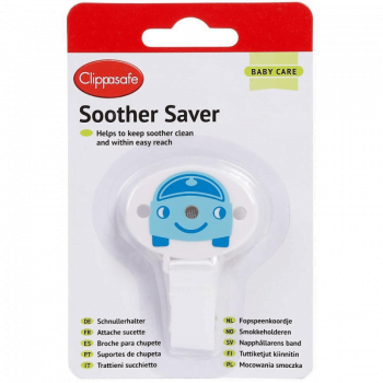 Clippasafe Dummy Saver - Blue