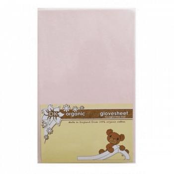 DK Glovesheet Chicco Next 2 Me Organic Mattress Sheets - Pink