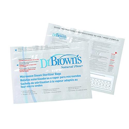 Dr Brown's Microwave Steriliser Bag - 5 Pack 1