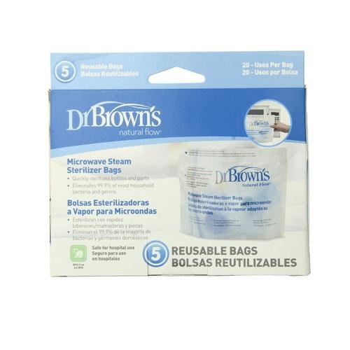 Dr Brown's Microwave Steriliser Bag - 5 Pack