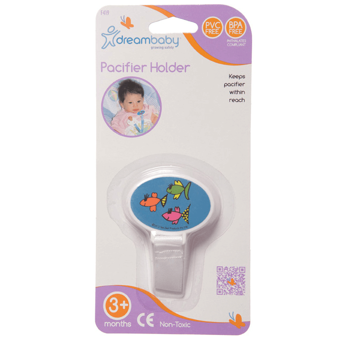 Dreambaby Pacifier Holder - Fish (2)