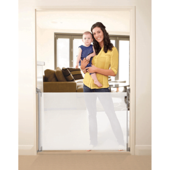 Dreambaby Retractable Baby Gate White F820 2