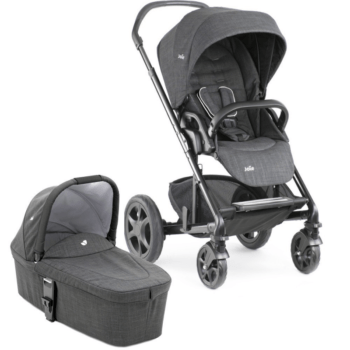 Joie Chrome DLX & Carrycot - Pavement