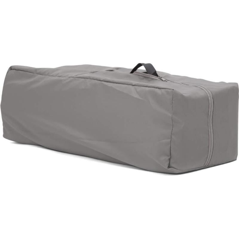 Joie Kubbie Sleep Compact Travel Cot - Foggy Grey (1)