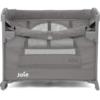 Joie Kubbie Sleep Compact Travel Cot - Foggy Grey (3)