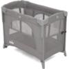 Joie Kubbie Sleep Compact Travel Cot - Foggy Grey (4)