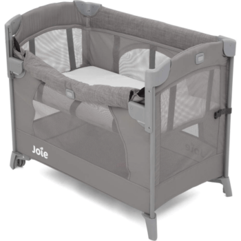 Joie Kubbie Sleep Compact Travel Cot - Foggy Grey (5)