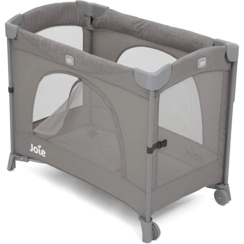 Joie Kubbie Sleep Compact Travel Cot - Foggy Grey (6)