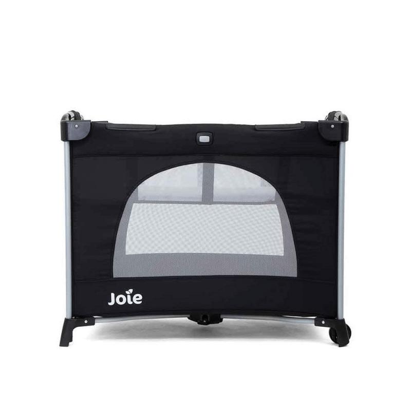Joie Kubbie Travel Cot - Coal 1