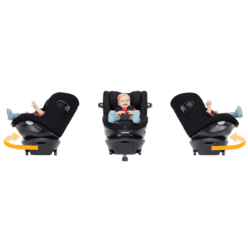 Joie i-Spin 306 i-Size Car Seat - Grey Flannel 7