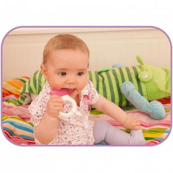 MAM Mini Cooler & Clip Teether - Pink 4