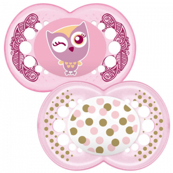 MAM Original 12m+ Soother - Pink