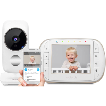 Motorola MBP668 Smart Connect Video Baby Monitor