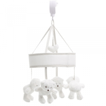 Obaby B Is For Bear Musical Mobile - White