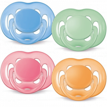 Philips AVENT Free-Flow Soothers 0-6 Months 4