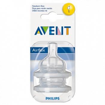 Philips AVENT Newborn Flow Teat Airflex