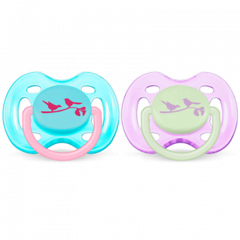 Philips Avent BPA-Free Fashion Soothers 0-6 Months 1