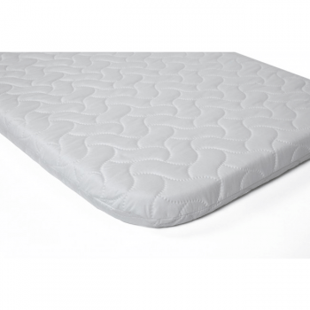 Replacement Next2Me Mattress - With Quilted Microfibre Cover- White